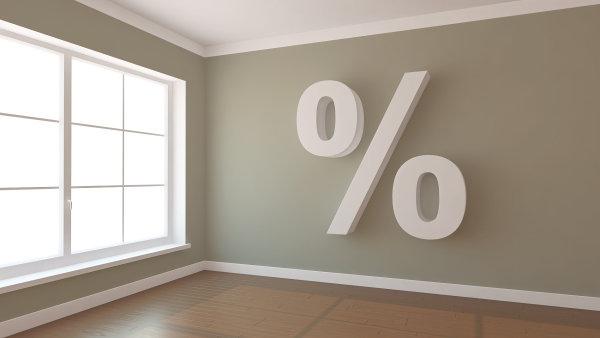 Sazby hypoték opět na 3 procentech