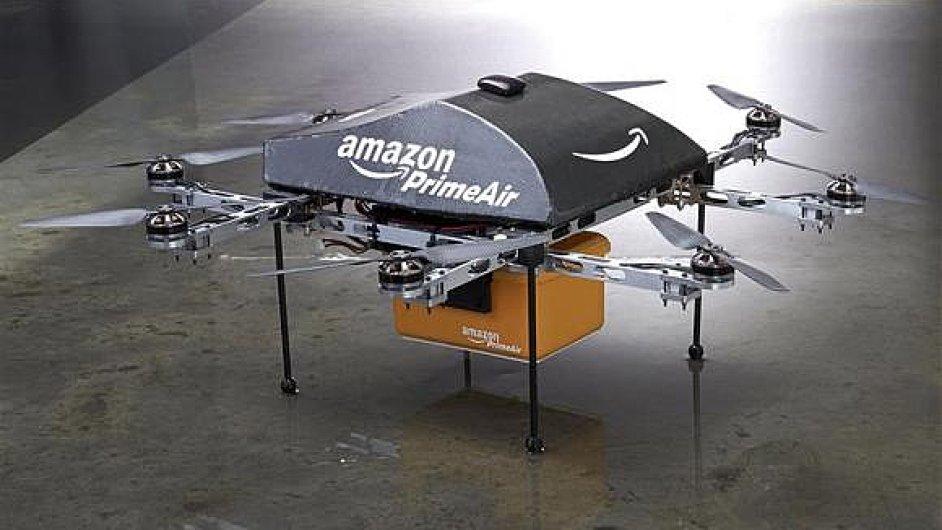 Americký Amazon může začít s testováním doručování svých zásilek pomocí dronů