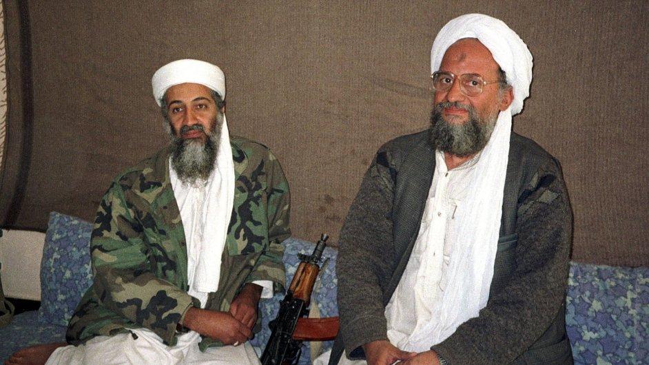 Ajmán Zaváhrí, dříve pravá ruka Usámy bin Ládina