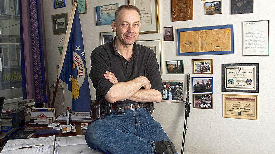 Na snímku Václav Marhoul v roce 2010.