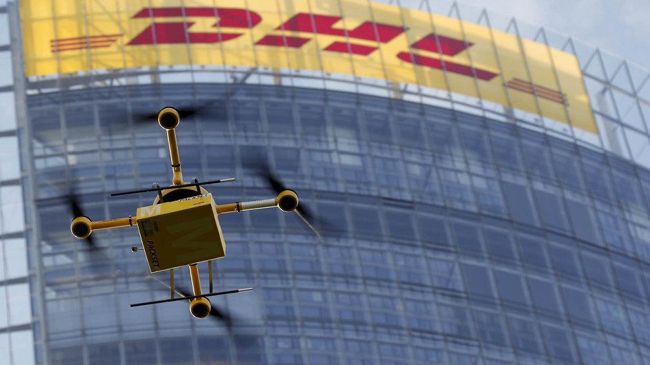 Parcelcopter vyráží