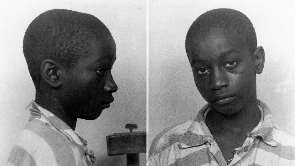 Čtrnáctiletý George Stinney Jr.