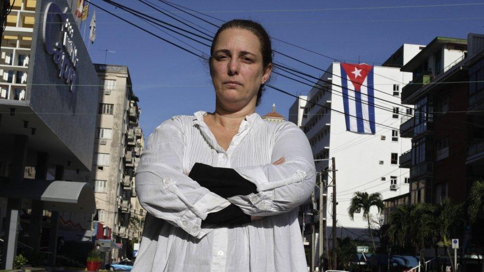 Tania Bruguera po svém propuštění v Havaně
