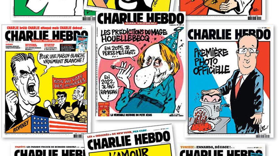 Charlie Hebdo - obálky