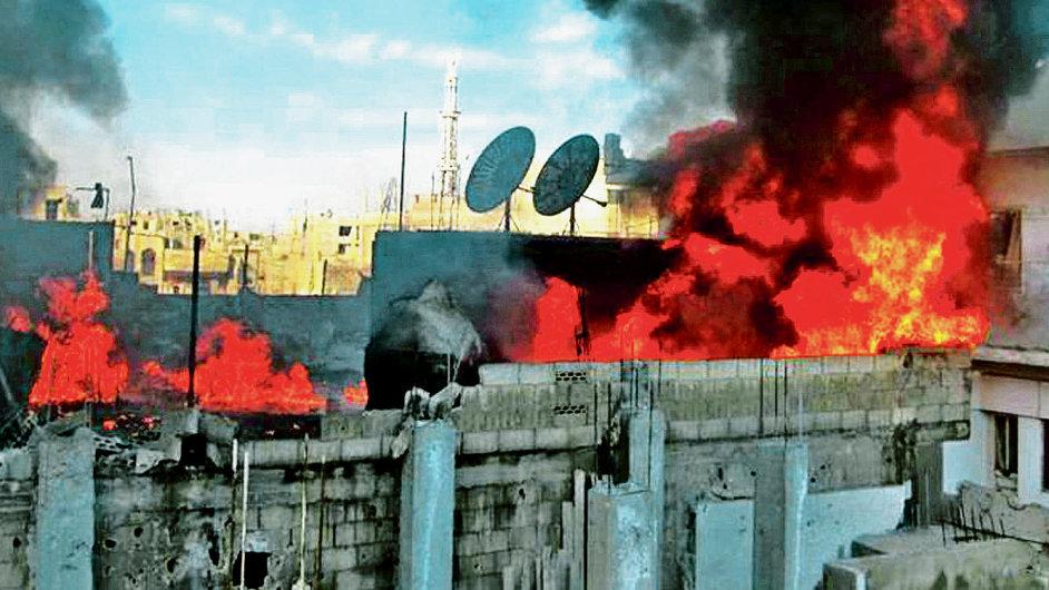 Ostřelování města Homs
