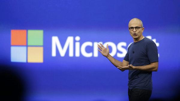 Ředitel společnosti Microsoft Satya Nadella.