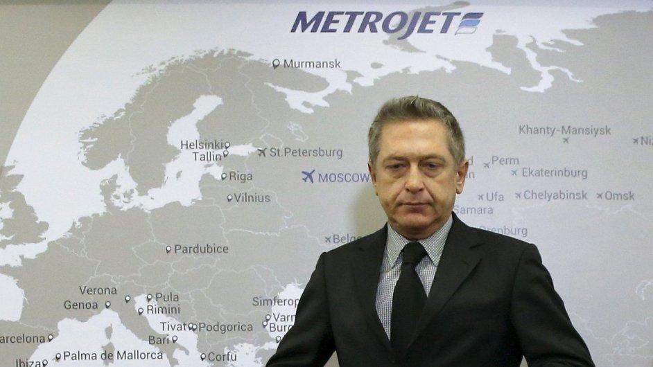 Šéf ruských aerolinek Kogalymavia Alexandr Snagovskij