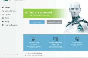 Produkty Esetu chrání také bankovní a platební transakce