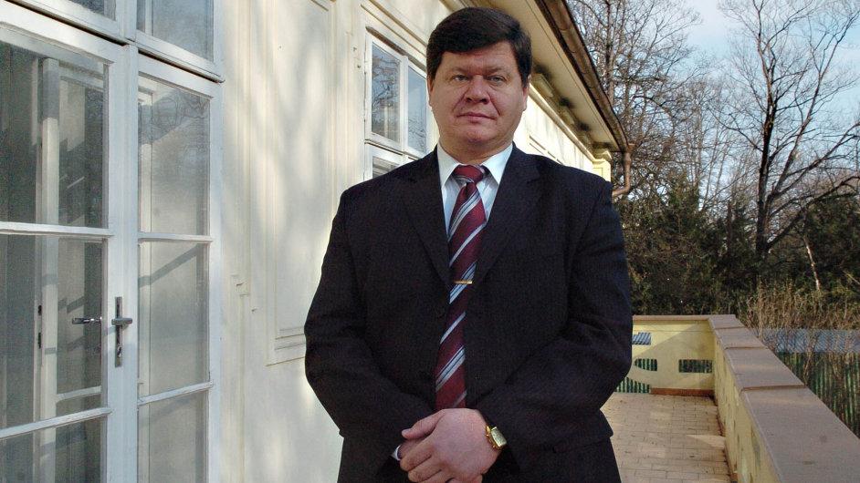 Zakladatel a šéf skupiny Vemex Vladimir Ermakov