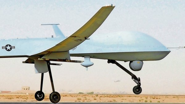 Americk� bezpilotn� letoun Reaper - Ilustra�n� foto.