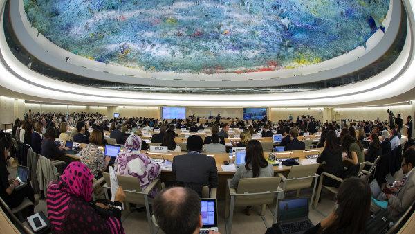 Rada OSN pro lidská práva v Ženevě.