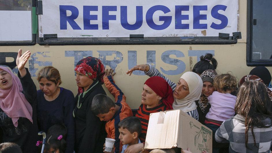 Uprchlíci, Makedonie, uprchlický tábor