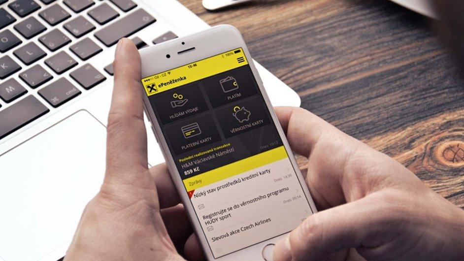 Mobilní peněženka Raiffeisenbank, ilustracni foto
