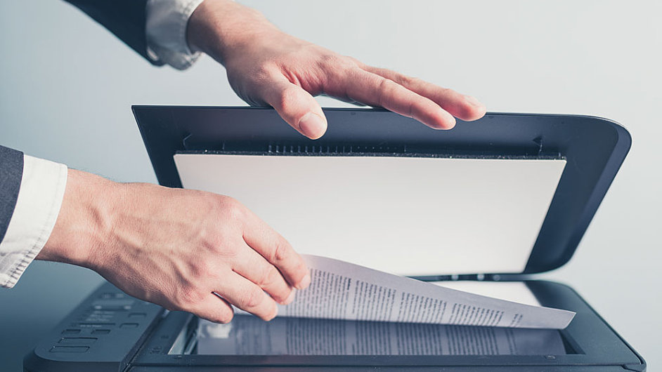 Skenování v kancelářích roste víc než tisk - ilustrační foto.