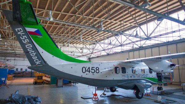 Vývoj letounu EV-55 byl považován za nejvýznamnější projekt českého leteckého průmyslu v posledních 20 letech.