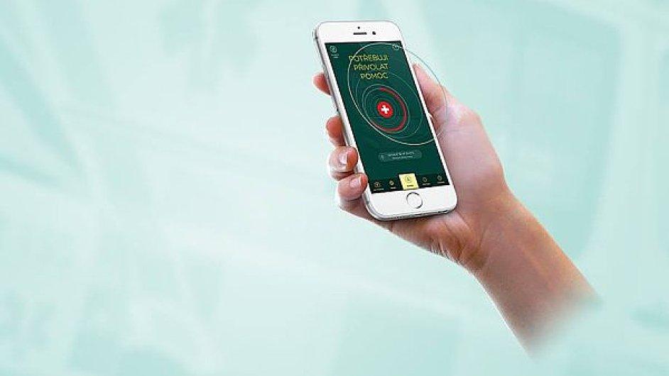 Jeden z oceněných projektů - Aplikace Záchranka