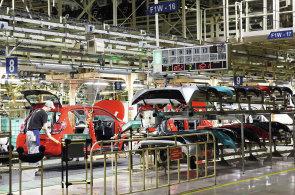 Výroba automobilů v Česku letos vzrostla o 5,2 procenta. Produkce v TPCA se snížila o 16 procent