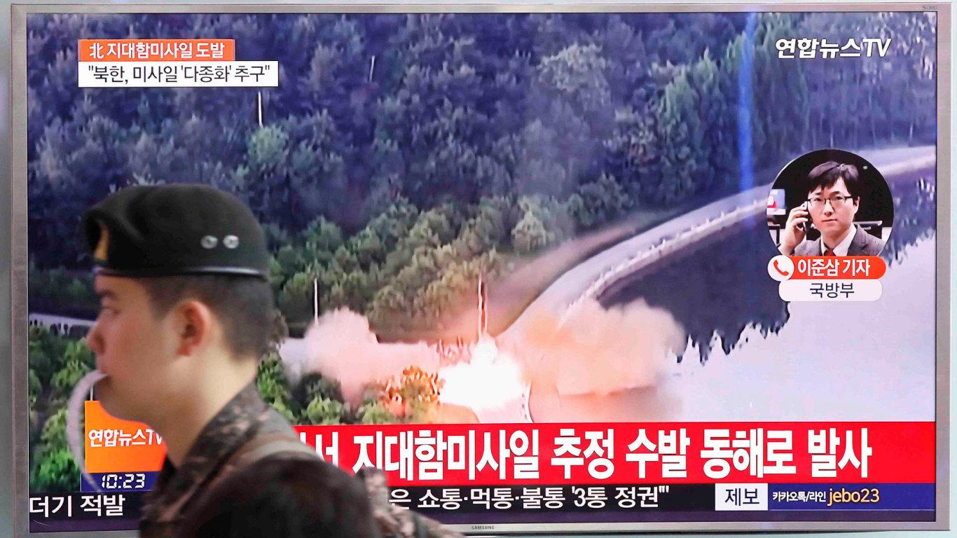 Severní Korea, raketa, KLDR