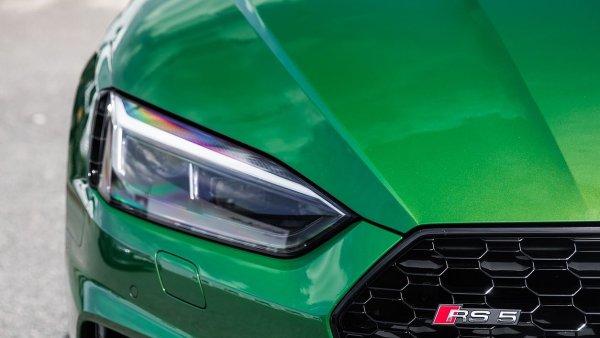 Kupé Audi RS5 v Česku.