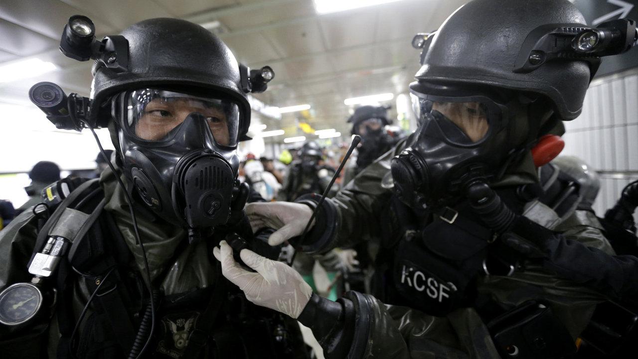 Vojenské cvičení, Jižní Korea, USA