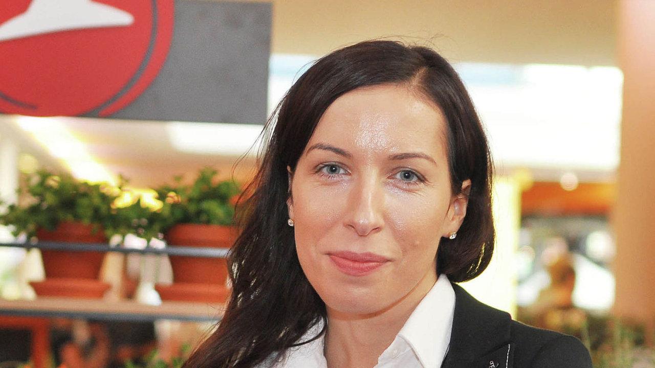 Agnieszka Kozłowská, marketingová ředitelka Pizza Hut Delivery & Express