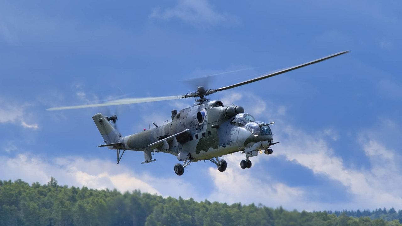 Vláda odsouhlasila servis čtyř desítek starších ruských vrtulníků typu Mi, jež armáda dosud používá. Chystá se je ale nahradit novými stroji.