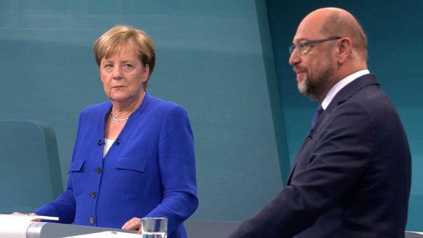 Ani uprchlíci, ani evropská integrace. Hlavním tématem vyzyvatele německé kancléřky Schulze je spravedlnost