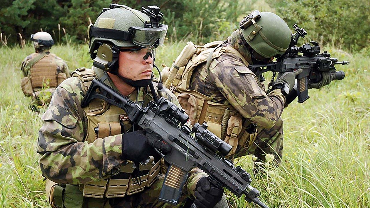 Nové cvičiště v Karlovarském kraji bude mít až 300 stálých vojáků - Ilustrační foto.