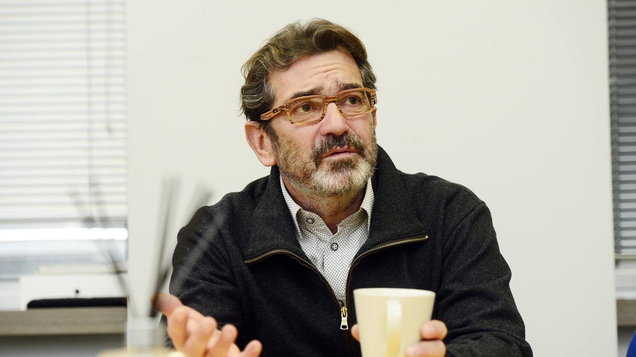 Petr Hendrych - zakladatel značky Pietro Filipi