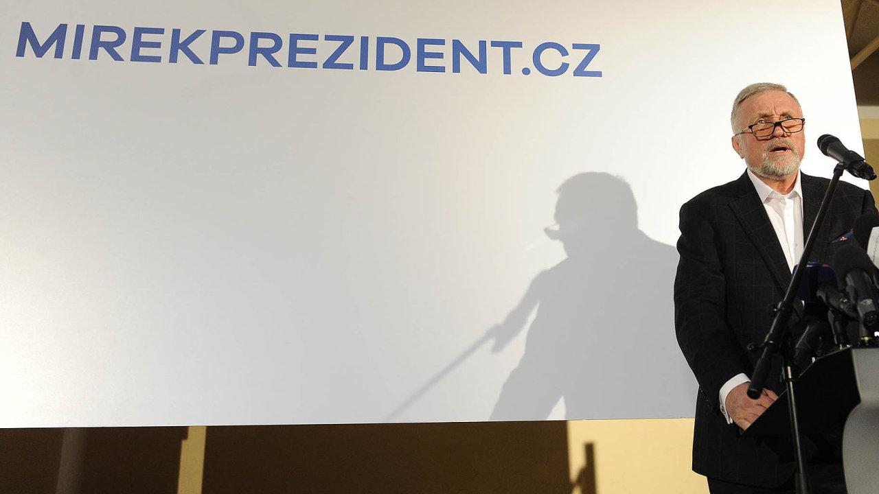 Bývalý premiér Mirek Topolánek tvrdí, žekprezidentské kandidatuře ho vyburcoval až