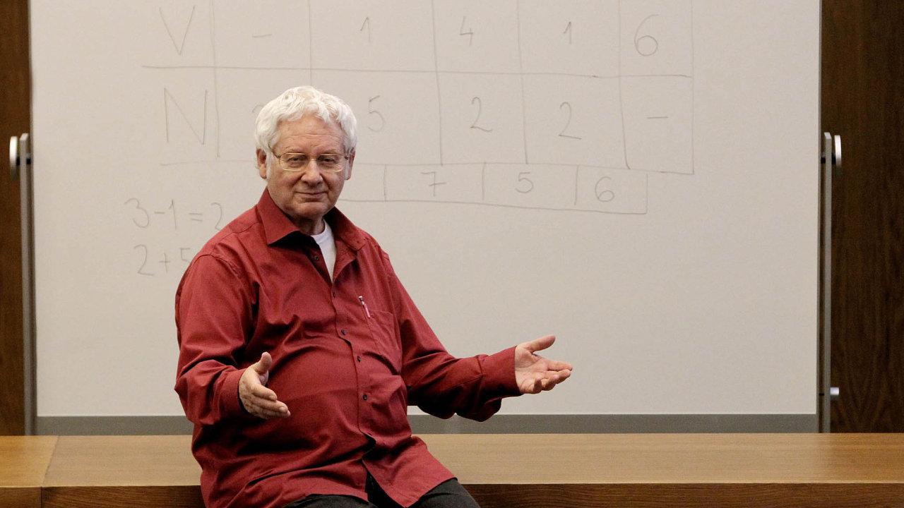 Syn autora metody ajejí průkopník Milan Hejný se účastnil diskuse.