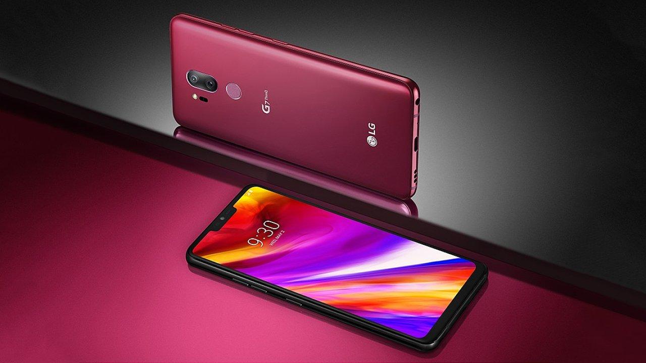 LG G7 ThinkQ má displej s výřezem a v nabídce i netradiční barvu s označením