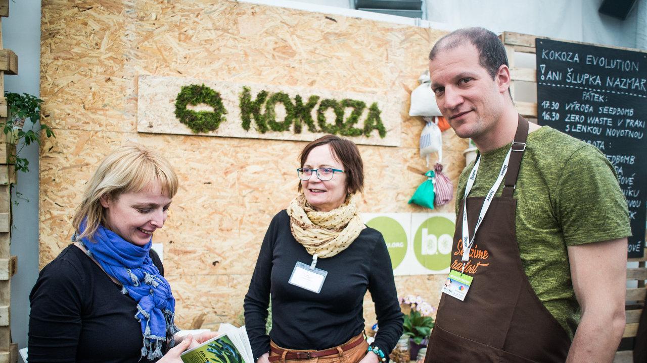 Auditor Jakub Reichl pomáhá společensky prospěšnému podniku Kokoza i po skončení programu Rok jinak.