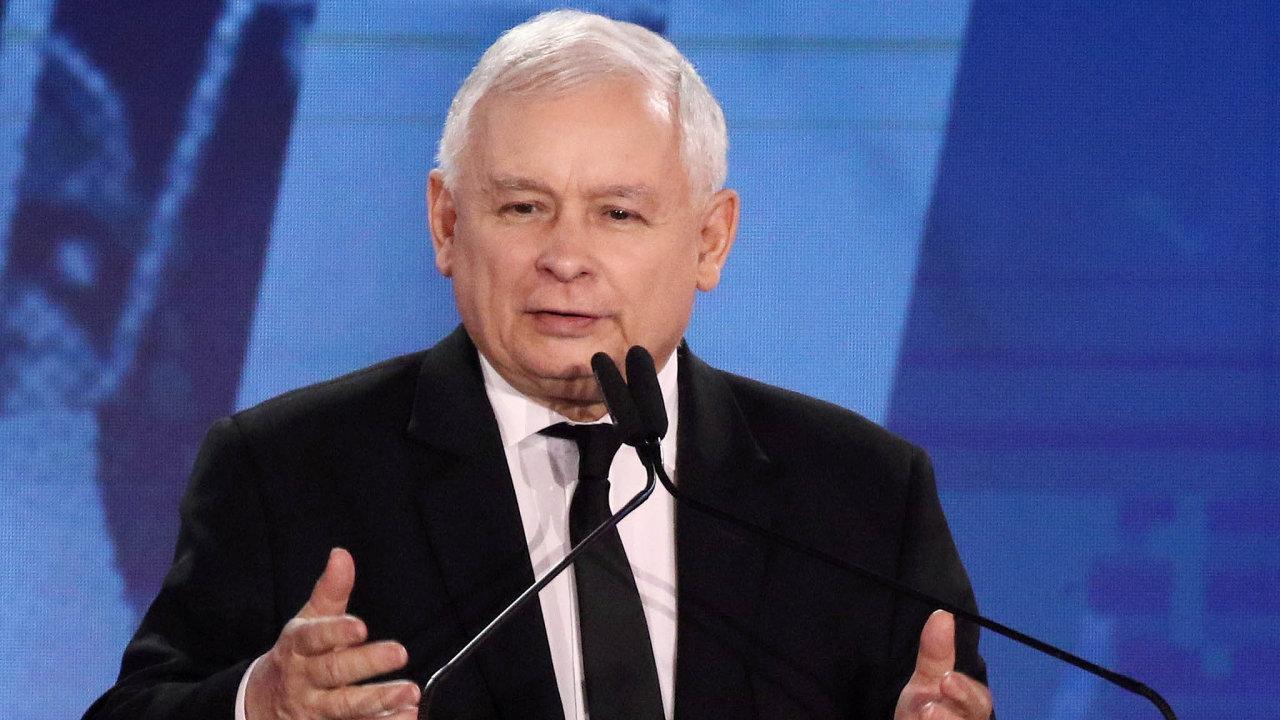 Bez faktického vládce Polska, předsedy strany Právo aspravedlnost Jaroslawa Kaczyńského, nemůže polská vláda nic zásadního rozhodnout.