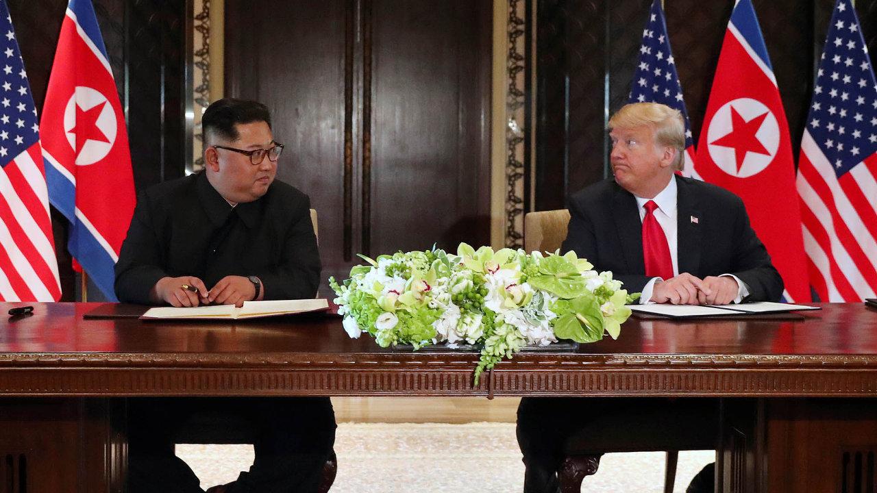 Po loňském červnovém setkání v Singapuru půjde o druhé osobní jednání obou politiků.