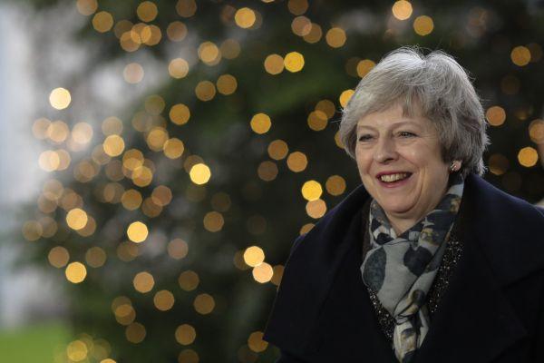 Theresa Mayová brexit