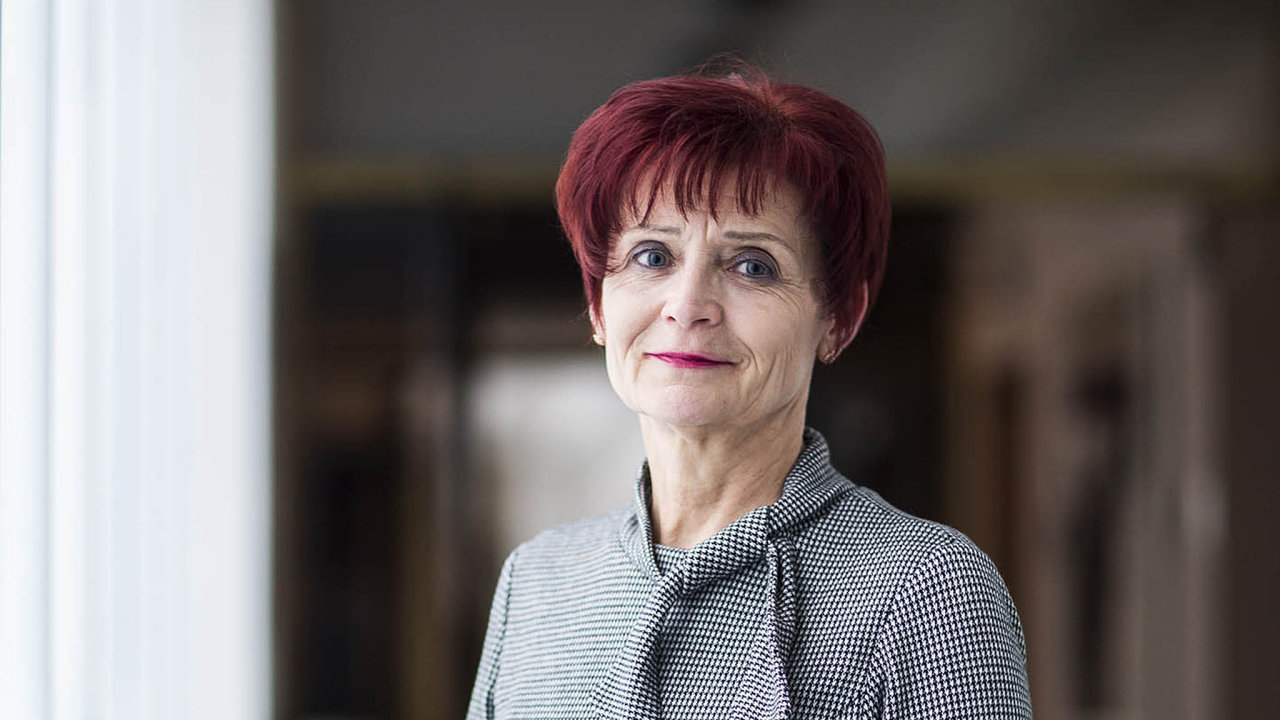 Generální ředitelka Generálního finančního ředitelství Tatjana Richterová.