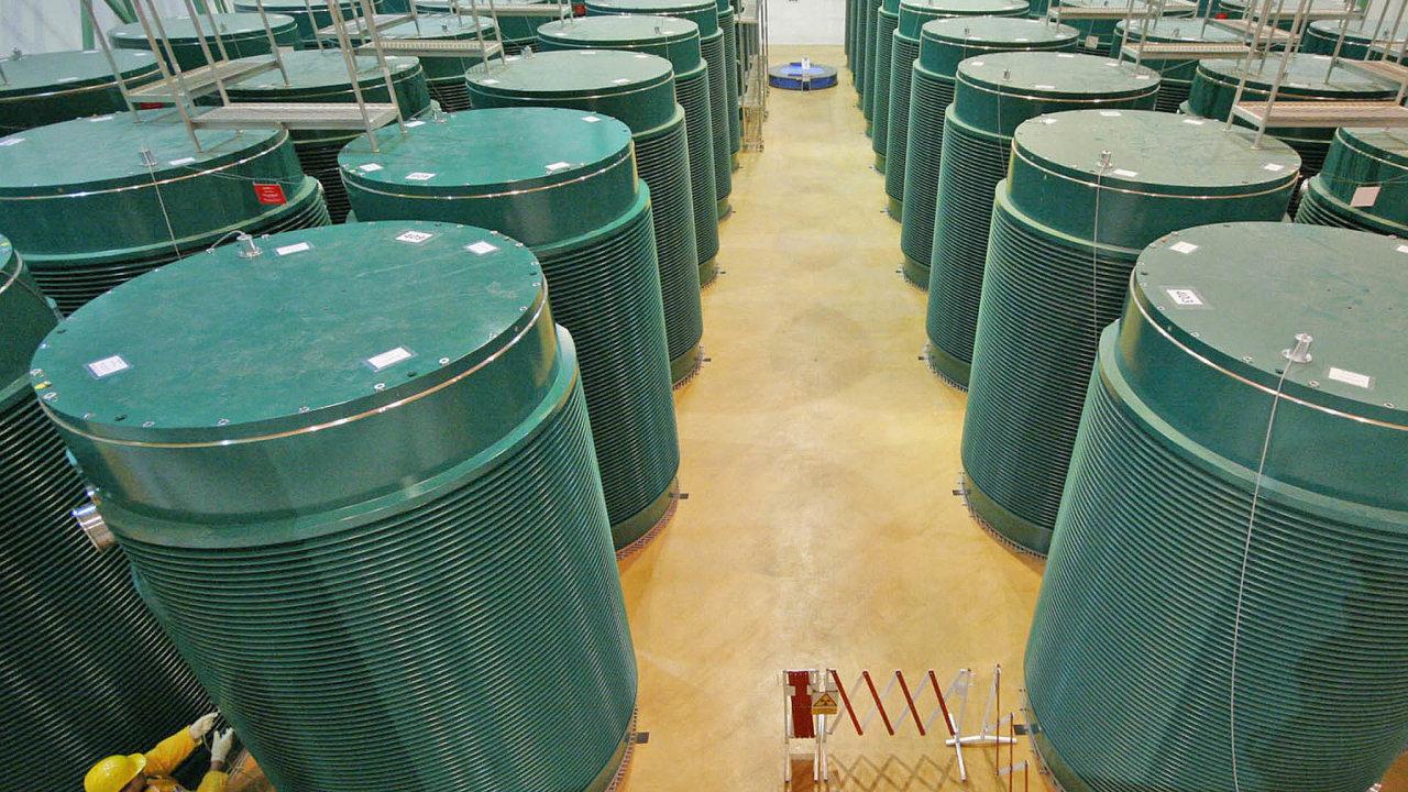 Úložiště jaderného paliva v elektrárně Dukovany