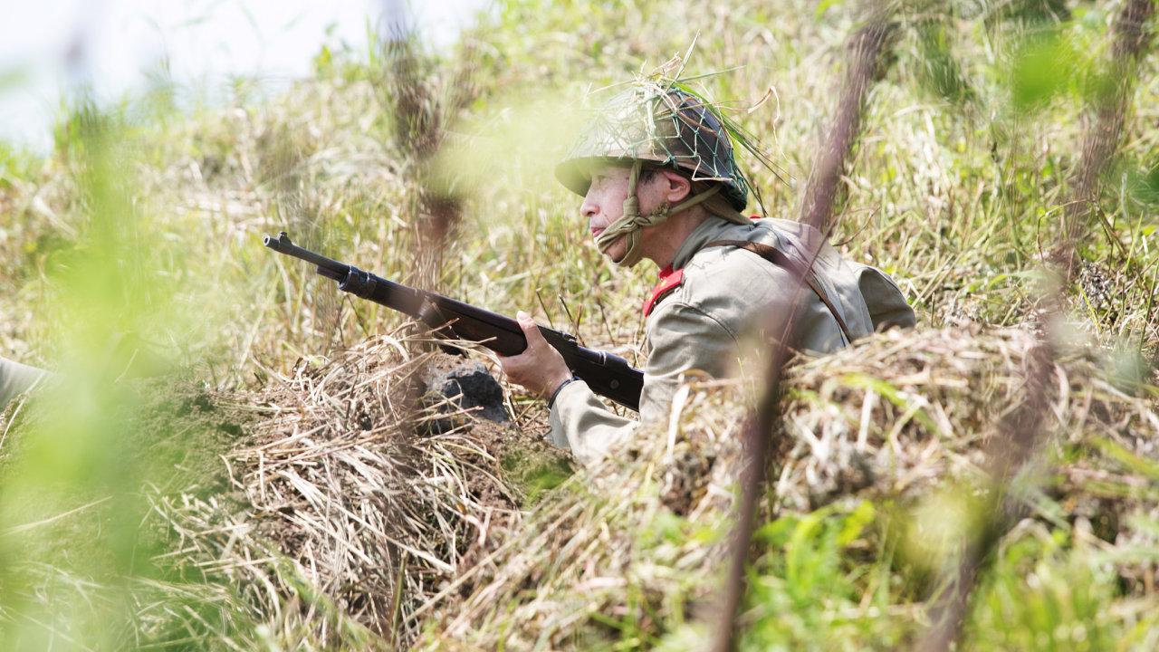 japonský voják druhá světová válka reenacting