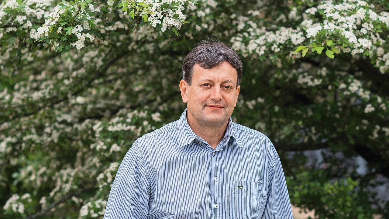 Entomolog Marek Jindra