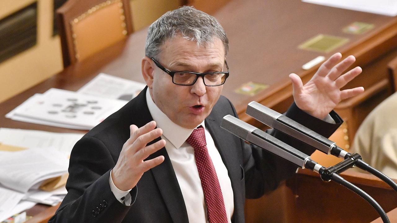 A jsem tu zas. Lubomír Zaorálek se opět vrací do nejvyšší politiky.
