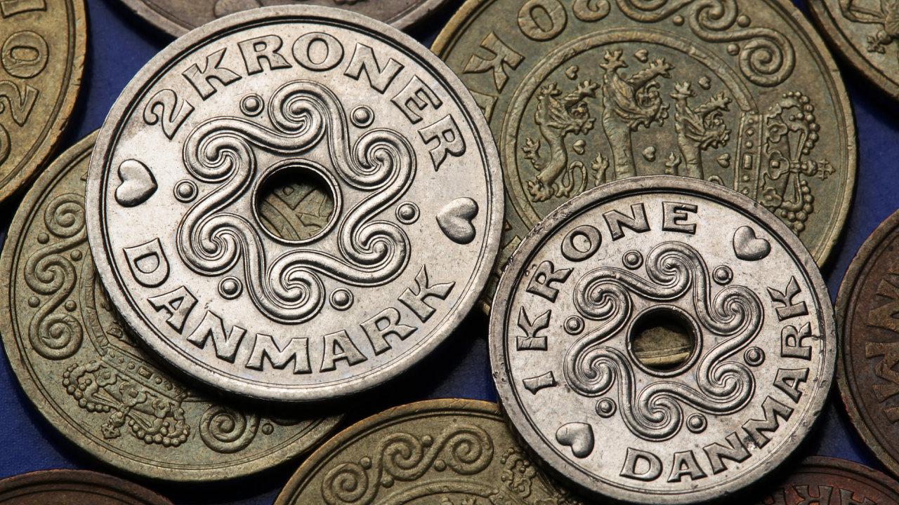 Dánská koruna čelí náporu spekulantů, další na řadě může být i česká měna.
