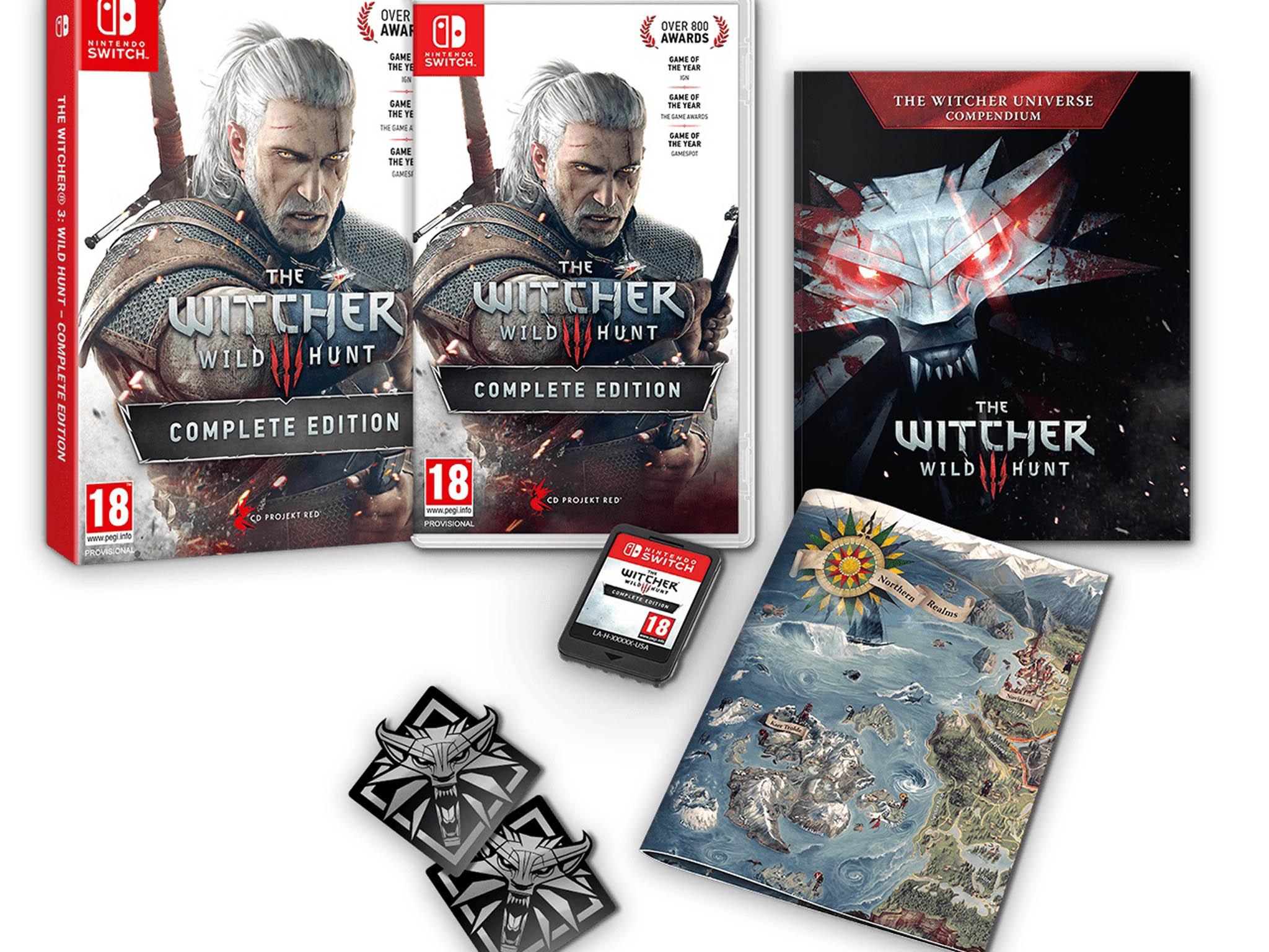 Witcher 3 Complete Edition pro herní konzoli Nintendo Switch převádí rozsáhlou PC hru sdesítkami hodin rozhovorů amorálně nejednoznačnými úkoly dokapesního zařízení.