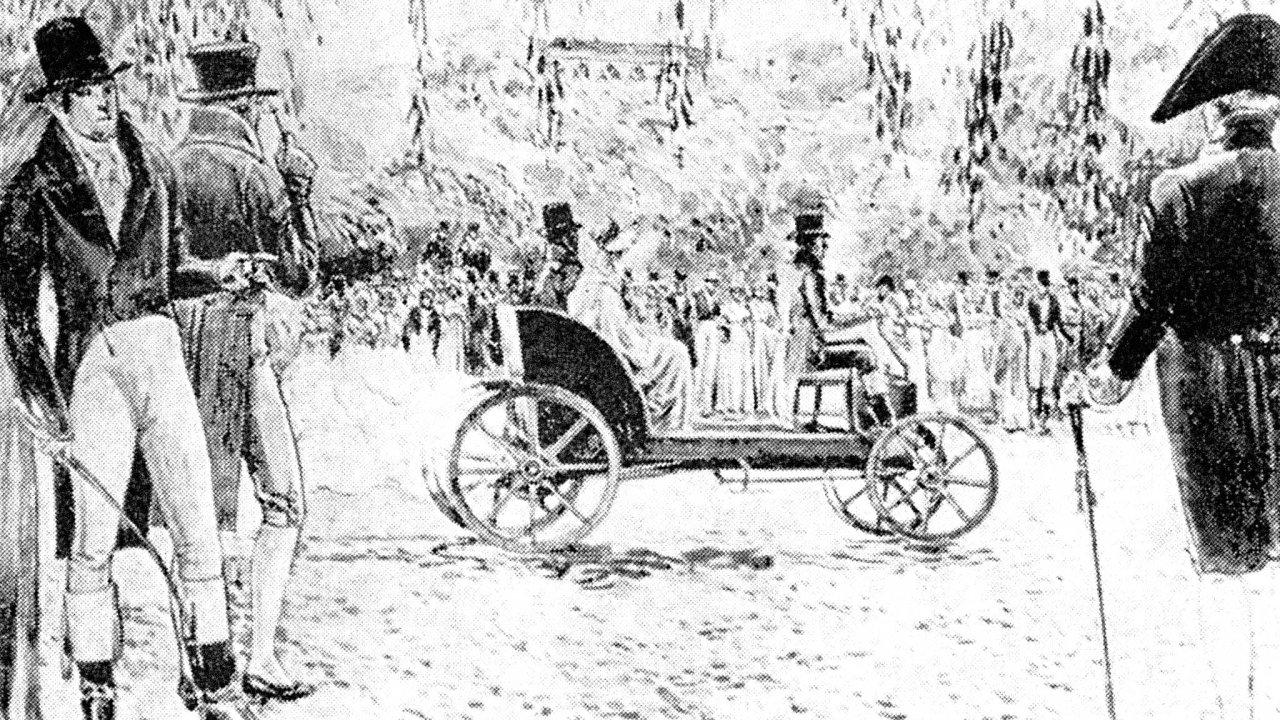 Pomineme-li těžkopádný vůz Francouze Cugnota, sestrojil Božek první použitelný parní vůz na evropském kontinentě, u něhož bylo navíc přínosem pootočení pracovních válců vůči sobě o 90°.