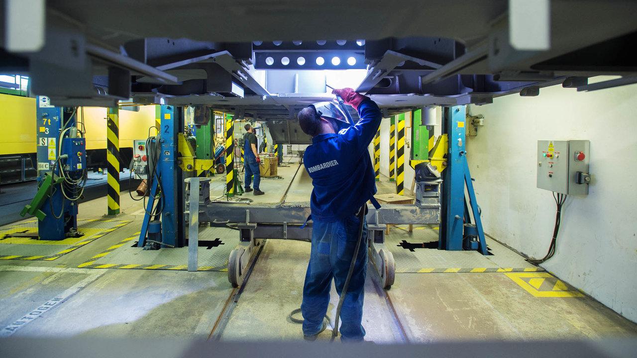 Bombardier Transportation se chystá naČeskolipsku rozšířit výrobu vlaků.