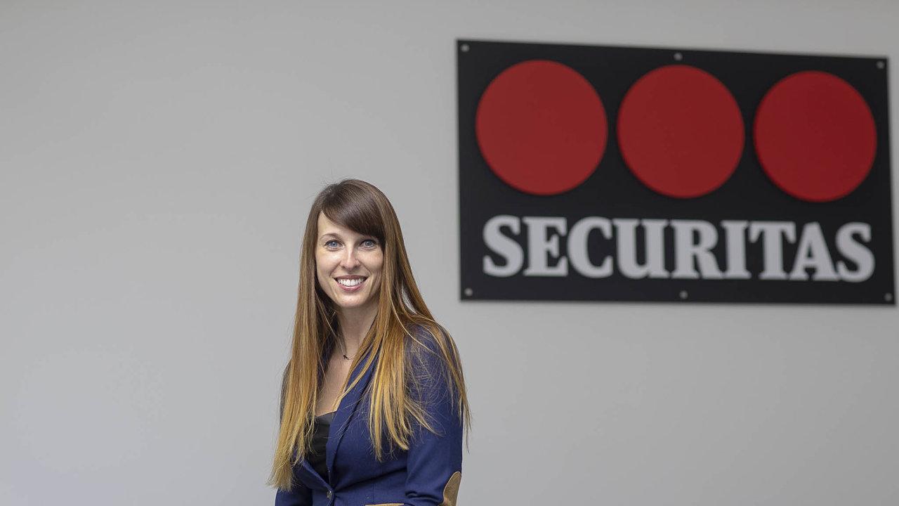 Martina Němcová (30) nastupuje na pozici obchodní ředitelky společnosti Securitas Česká republika. Němcová ve firmě začala pracovat vroce 2014 jako obchodní referentka.