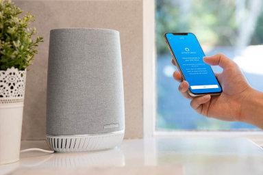 Bez drátů všude. Mesh systémy, například Netgear Orbi, umožňují rozvést wi-fi signál itam, kam by přes zdi nepronikl.