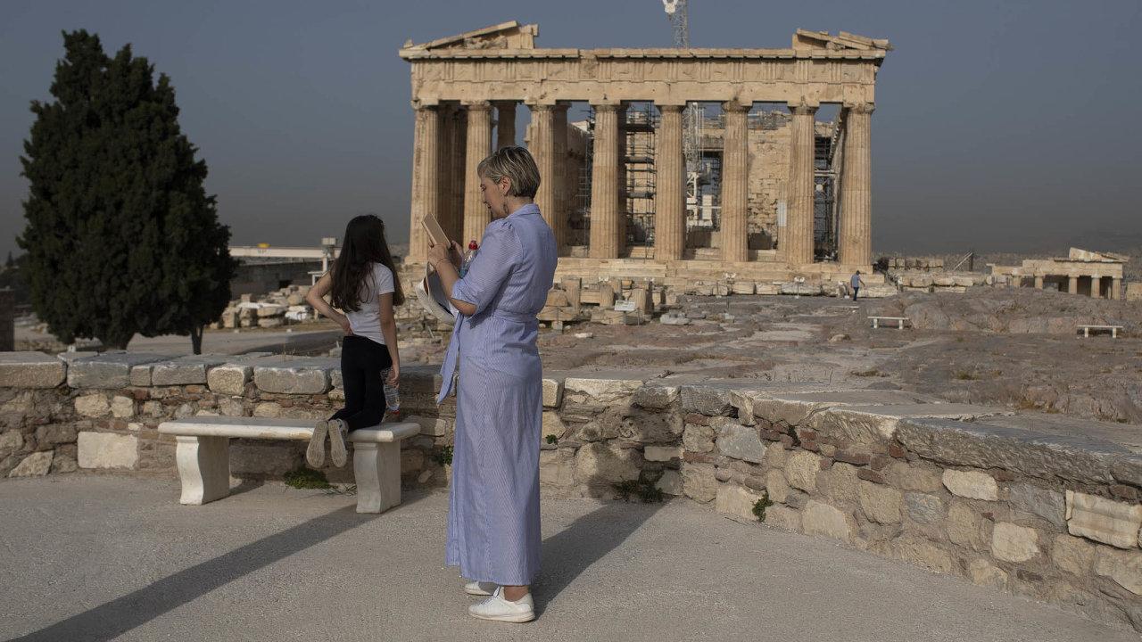 Aténská Akropole
