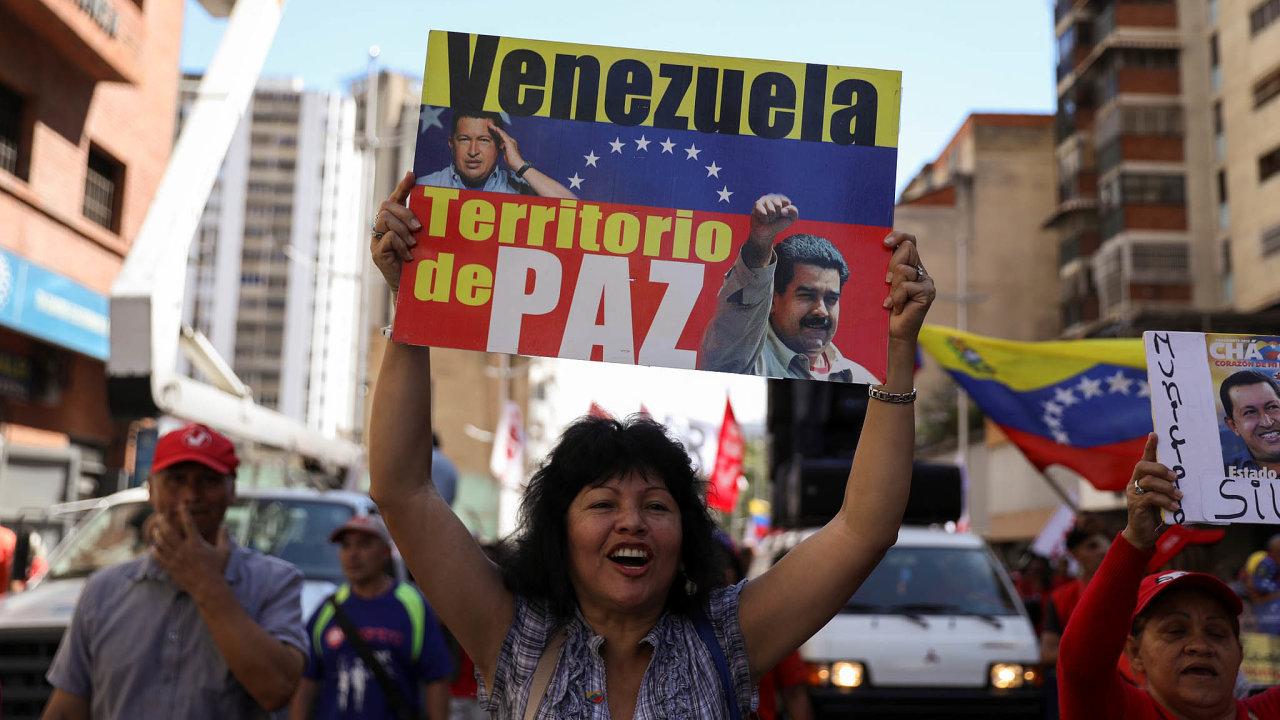 Venezuelský prezident Nicolás Maduro přišel o svého blízkého spolupracovníka. Toho chtějí soudit Spojené státy.