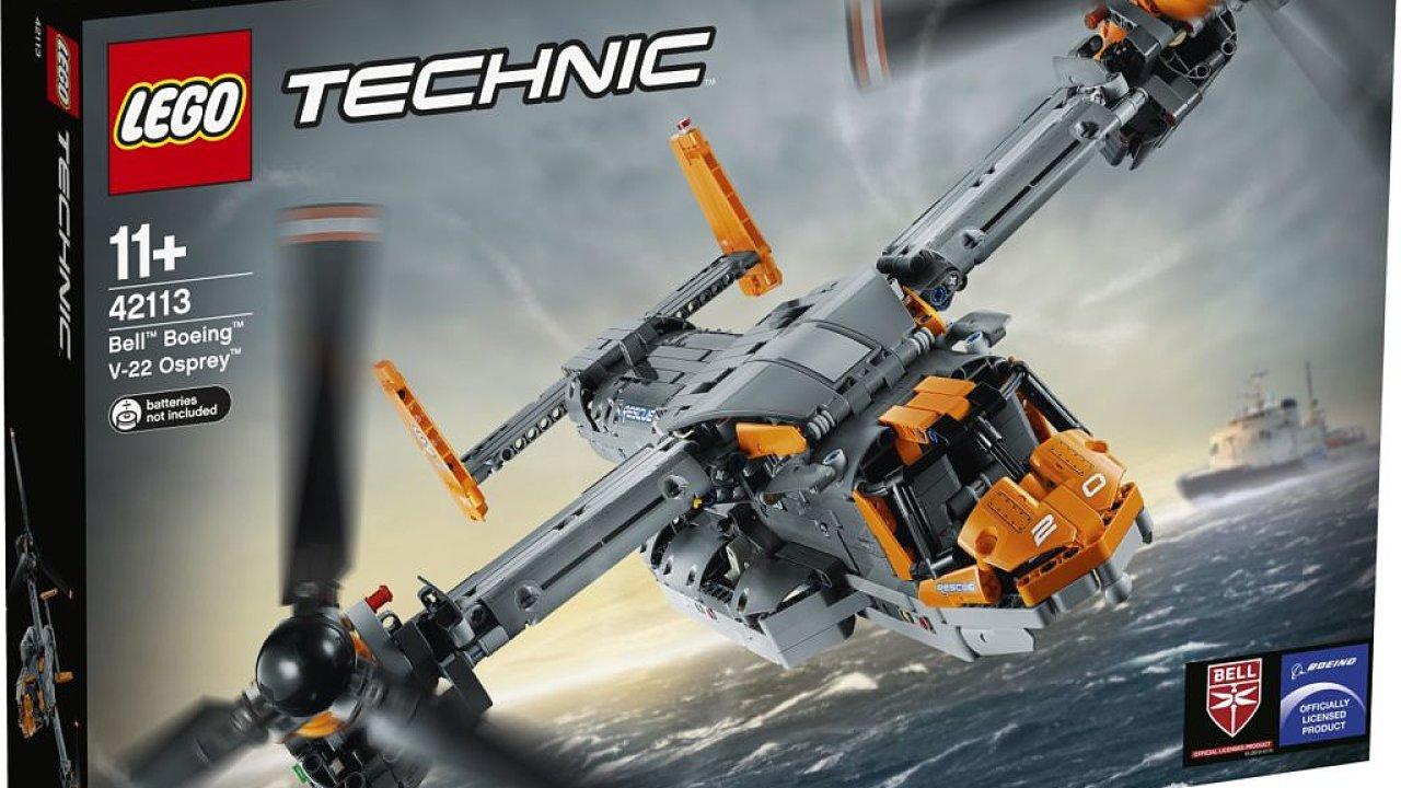 LEGO Technic stavebnice Bell Boeing V 22 Osprey.